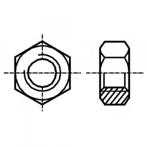 Set piulita otel 2mm (M2) (10 bucati)0