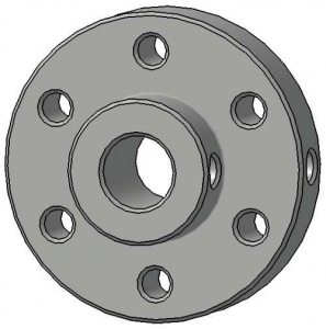 Conector roata motor 6 mm4