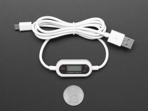 Cablu Micro B USB cu LCD tensiune si curent3