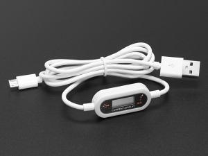 Cablu Micro B USB cu LCD tensiune si curent0