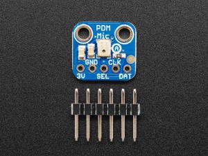 Microfon cu breakout Adafruit PDM MEMS1