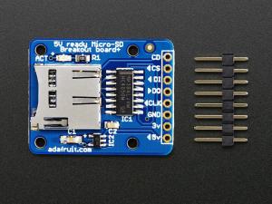MicroSD card breakout [2]