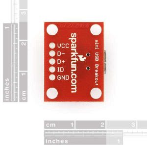 Placa mini USB1