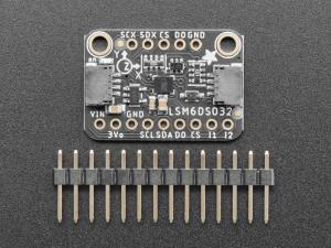 Modul accelerometru si giroscop Adafruit LSM6DSO32 6-DoF [1]
