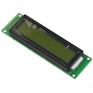 Modul afisaj LCD negru pe galben0