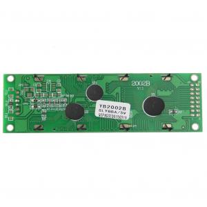 Modul afisaj LCD negru pe galben1