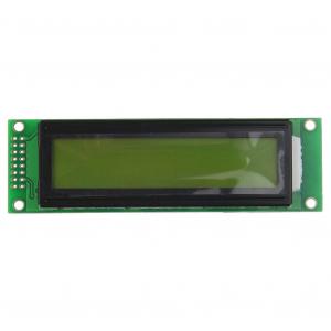 Modul afisaj LCD negru pe galben2
