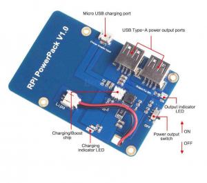 Modul alimentare pentru Raspberry Pi cu 2 iesiri USB [2]