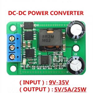 Modul convertor DC-DC 24V/12V la 5V/5A4