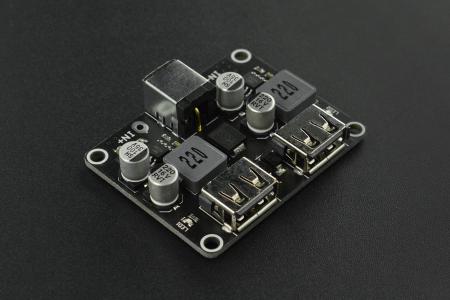Modul DF Robot buck incarcare rapida cu 2 USB-uri [0]