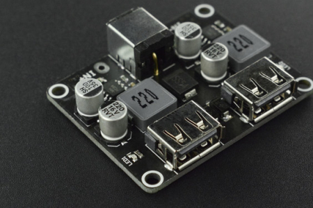 Modul DF Robot buck incarcare rapida cu 2 USB-uri [3]