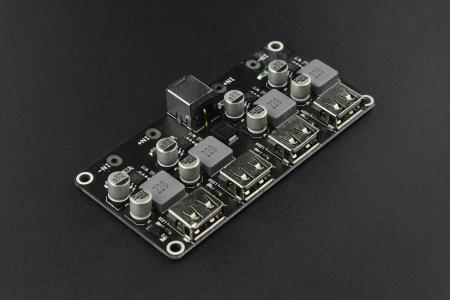 Modul DF Robot buck incarcare rapida cu 4 USB-uri [0]