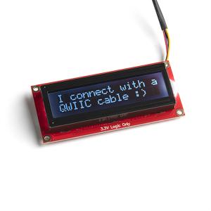 Modul LCD serial SparkFun 16x2 SerLCD [0]