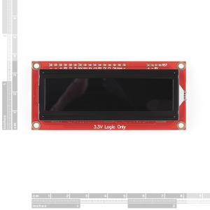 Modul LCD serial SparkFun 16x2 SerLCD [1]