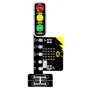 Modul semafor Kitronik STOP:bit pentru BBC micro:bit2