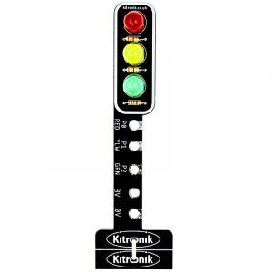 Modul semafor Kitronik STOP:bit pentru BBC micro:bit0
