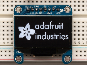"Monochrome 1.3"" 128x64 OLED graphic display0"