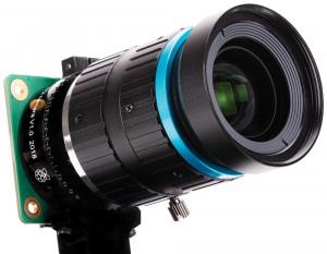Obiectiv Telephoto 16mm pentru camera Raspberry Pi HQ1
