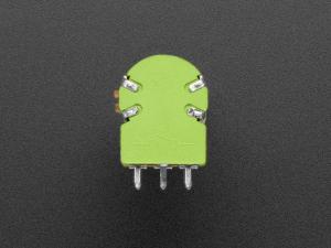 Potentiometru de 10K, liniar, dublu, cu montaj pe panou si comutator2