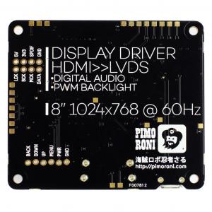 Pimoroni kit afisaj IPS LCD de 8 inch (1024x768) cu HDMI [4]