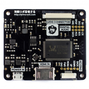 Pimoroni kit afisaj IPS LCD de 8 inch (1024x768) cu HDMI [5]