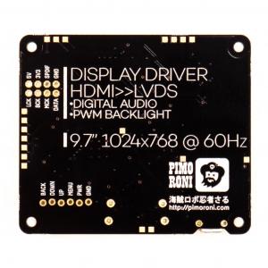 Pimoroni kit afisaj LCD de 10 inch (1024x768) cu HDMI [5]