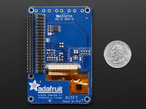 """PiTFT Plus Mini Kit 320x240 2.8"""" TFT + Touchscreen capacitiv [9]"""