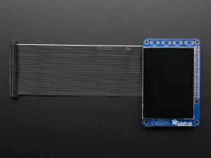 """PiTFT Plus Mini Kit 320x240 2.8"""" TFT + Touchscreen capacitiv [8]"""