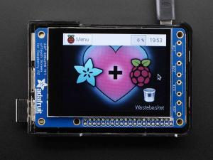 """PiTFT Plus Mini Kit 320x240 2.8"""" TFT + Touchscreen capacitiv [2]"""
