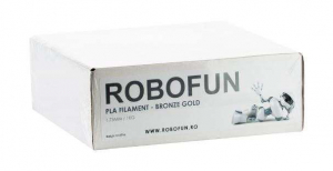 Filament Premium Robofun PLA 1KG  1.75 mm - Bronze Gold1