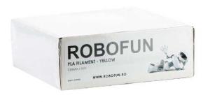RETRAS - Filament Premium Robofun PLA 1KG  3 mm - Galben [4]