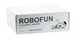 Filament Premium Robofun PLA 1KG  1.75 mm - Magenta1