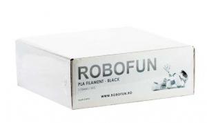 Filament Premium Robofun PLA 1KG  1.75 mm - Negru [1]
