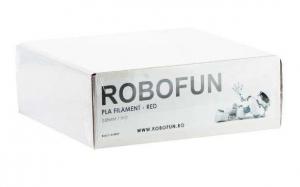 RETRAS - Filament Premium Robofun PLA 1KG  3 mm - Rosu5