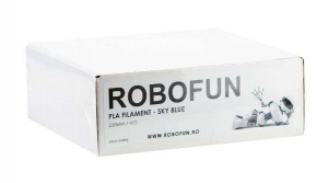 RETRAS - Filament Premium Robofun PLA 1KG  3 mm - Albastru deschis [4]
