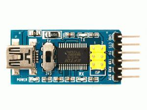 Placa breakout pentru FTDI FT232RL 3.3V si 5V [3]