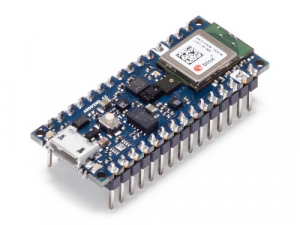 Placa dezvoltare Arduino Nano 3 BLE Sense cu conectori