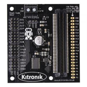 Placa driver 16 servomotoare Kitronik pentru BBC micro:bit2