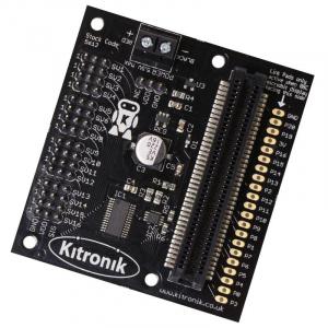 Placa driver 16 servomotoare Kitronik pentru BBC micro:bit0