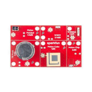 Placa evaluare cu 6 antene SparkFun [3]