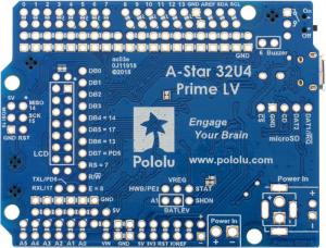Placa Pololu A-Star 32U4 Prime LV cu microSD [2]