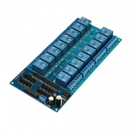 Placa releu(relee) 5V 16 canale LM25760