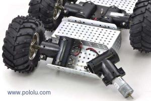 Motor metalic cu cutie de viteze 25Dx52L mm 34:1 HP1