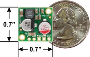 Regulator 5V, 2.5A Step-Down D24V25F52