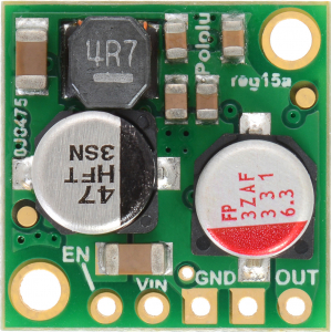 Regulator 5V, 2.5A Step-Down D24V25F51