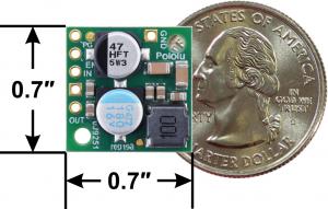 Regulator 7.5V, 2.4A Step-Down D24V22F7 [1]