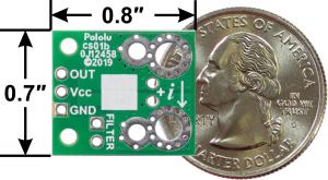 Pololu ACHS-7124 -40A/+40A breakout senzor curent1
