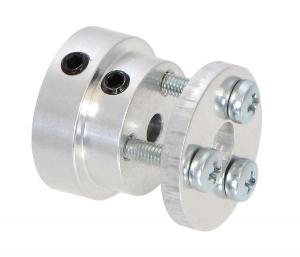 Conector roata (trotinete,role)  cu ax  4mm [1]