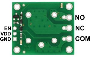 Placa releu SPDT releu 12VDC1
