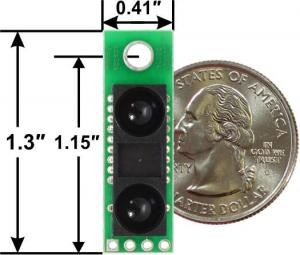 Senzor de distanta Sharp GP2Y0A60SZLF 10-150cm, 5V2